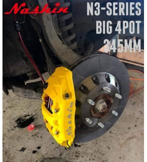 NASHIN (FRONT) : N3-SERIES BIG 4pot 345MM BRAKE KIT