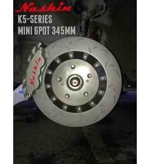 NASHIN (FRONT) : K5-SERIES MINI 6pot 345MM BRAKE KIT