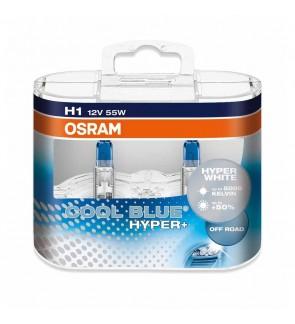 Osram H1 Cool Blue Hyper White Light Bulb (1pair)