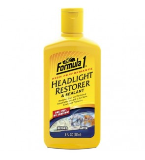Formula 1 Headlight Restorer & Sealant (8oz)