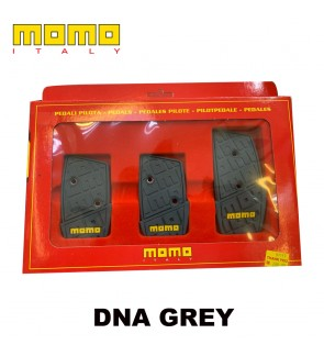MOMO DNA Grey Manual Pedal Kit-Italy