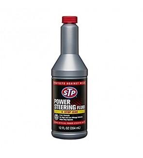 STP® POWER STEERING FLUID WITH STOP LEAK-12OZ