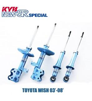 TOYOTA WISH 03-08 KYB NEW SR HIGH PERFORMANCE SHOCK ABSORBER