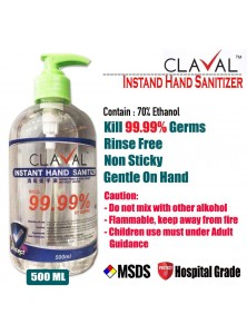 CLAVAL HAND SANITIZER GEL TYPE 500ML