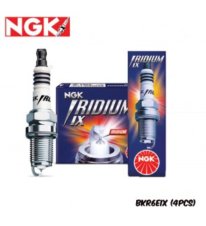 NGK Iridium IX Spark Plug BKR6EIX (4pcs)