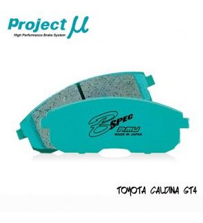 PMU B-Spec Front Brake Pad F132 - Toyota Alphard ANH10 / Estima ACR30 / Caldina GT4