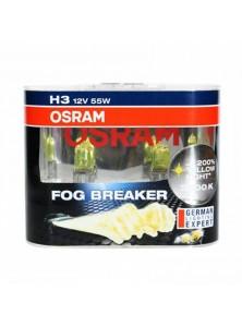 Osram Fog Breaker +200% Yellow Light 2600K H1