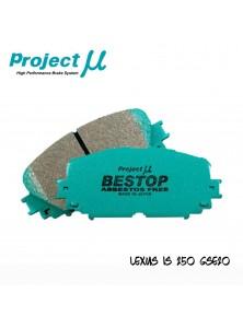 PMU Bestop Front Brake Pad F109 - Lexus IS250 GSE20