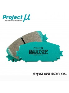 PMU Bestop Front Brake Pad F136 - Toyota Wish ZGE20 09+ / Altis ZZE142 08-12