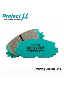 PMU Bestop Front Brake Pad F132 - Toyota Alphard ANH10 / Estima ACR30 / Caldina GT4
