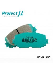 PMU Bestop Front Brake Pad F207 - Nissan Latio