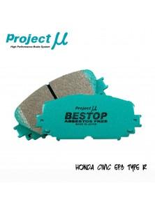 PMU Bestop Front Brake Pad F336 - Honda Civic EP3 Type R