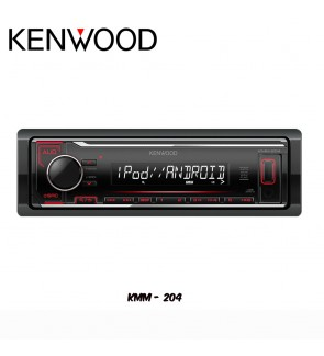 Kenwood FM/AM USB WMA/WAV/Mp3/FLAC Media Player - No CD KMM-204