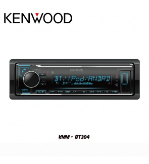 Kenwood Bluetooth/USB/AUX Digital Media Car Stereo - No CD KMM-BT304