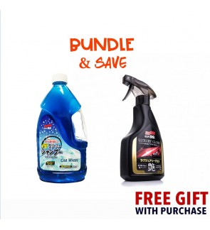 Soft 99 2L Shampoo + Luxury Spray Wax [Bundle Set]