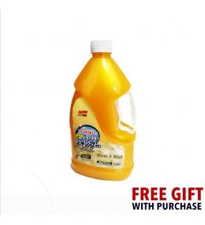 Soft 99 Creamy Shampoo Wash & Wax (2000ml)