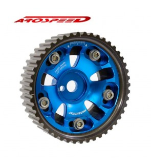 Arospeed Proton Waja 1.6 4G18 (Red,Blue) Adjustable Cam Pulley