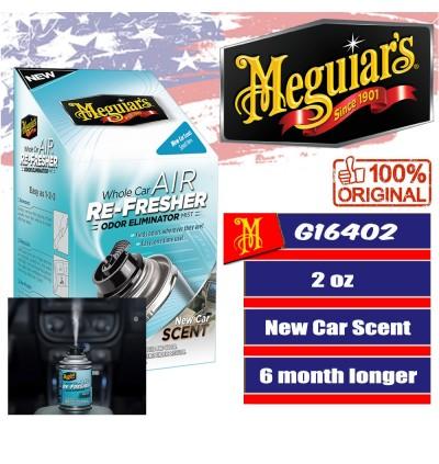 Meguiar's® G16402 Whole Car Air Re-Fresher Odor Eliminator Mist - New Car Scent