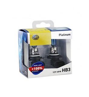 Hella Platinum Bulb +100% Brightness (1 Pair) HB3/9005