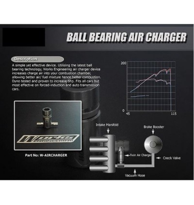 Works Engineering Twin Ball Bearing Air Charger (Universal)