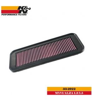 K&N 33-2922 Air Filter - Perodua Alza / Myvi 1.3 1.5