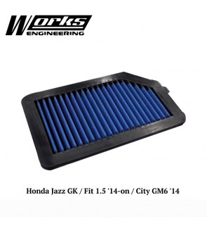 Works Engineering Air Filter - Honda Jazz GK / City GM6 14+