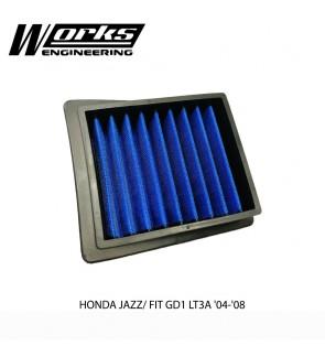 Works Engineering Air Filter - Honda Jazz GD1 1.3 LT3A 04-08