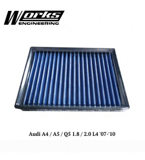 Works Engineering Air Filter - Audi A4/A5/Q5 1.8/2.0 L4 07-10