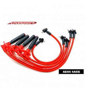 Arospeed Tri Core Spark Plug Cable - Toyota AE86 4A-GE 16V
