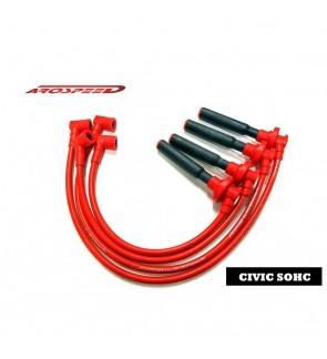 Arospeed Tri Core Spark Plug Cable - Honda Civic EG EK D15/D16 SOHC
