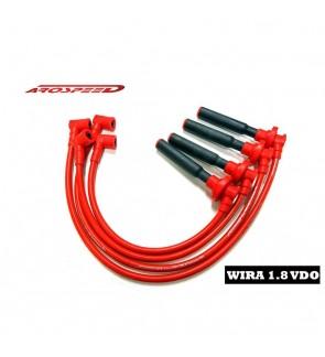 Arospeed Tri Core VDO Plug Cable - Proton Wira/Satria GTI 1.8 4G93