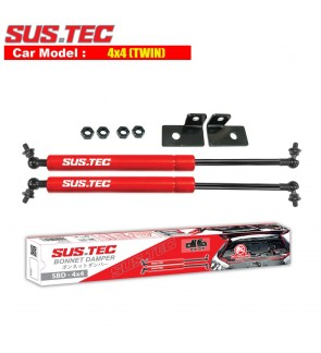 Sus-Tec Twin Bonnet Damper for 4x4